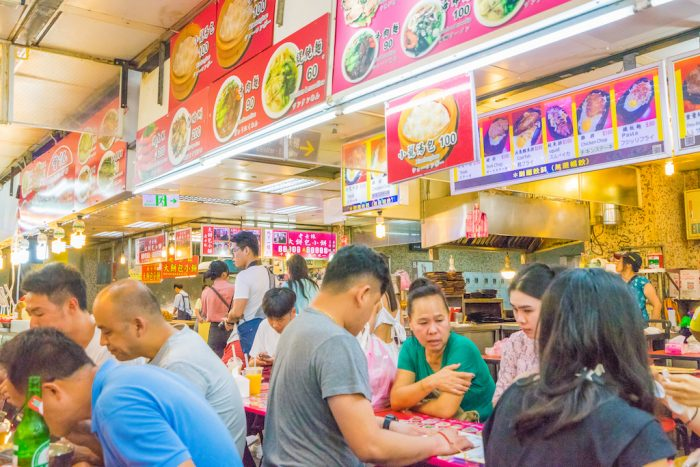 shilin food court