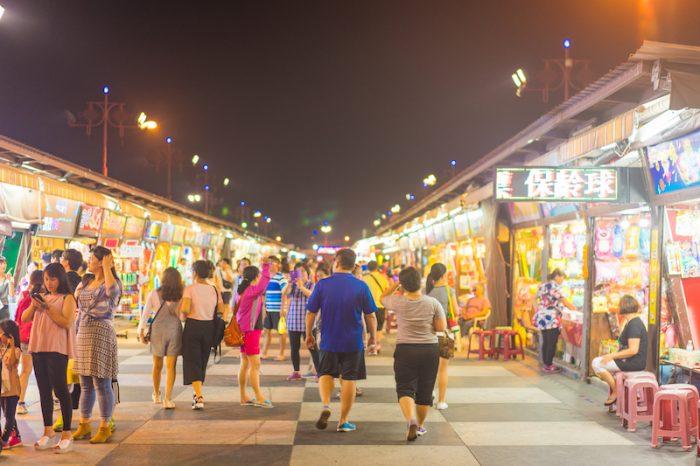 Zhiqiang night market