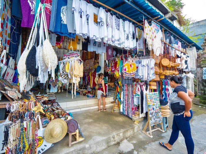 Tiangge market at Tegallalang
